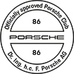 Officially approved Porsche Club 86